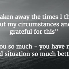 Feedback from our beneficiaries at City Heart