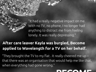 Care leavers Kayla