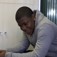 A young smiling man, cancer and CLIC Sargent
