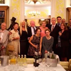 Trustees and staff at ambassador reception