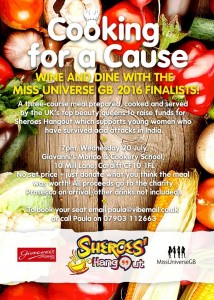 Miss Universe Cooking with a Cause