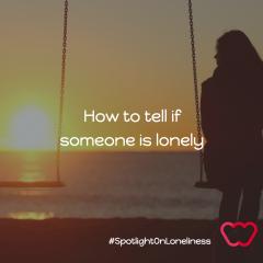 Recognising loneliness
