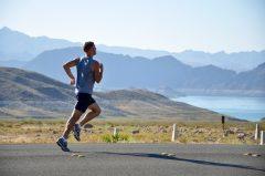 Resolutions - man running