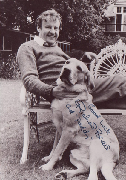 49. In 1979, Richard Briers, an actor who made his name in 'The Good Life' programme, made an appeal for us on 22nd July. By giving people a television or a radio, the charity was able to make a 'Good Life' for people around the country.