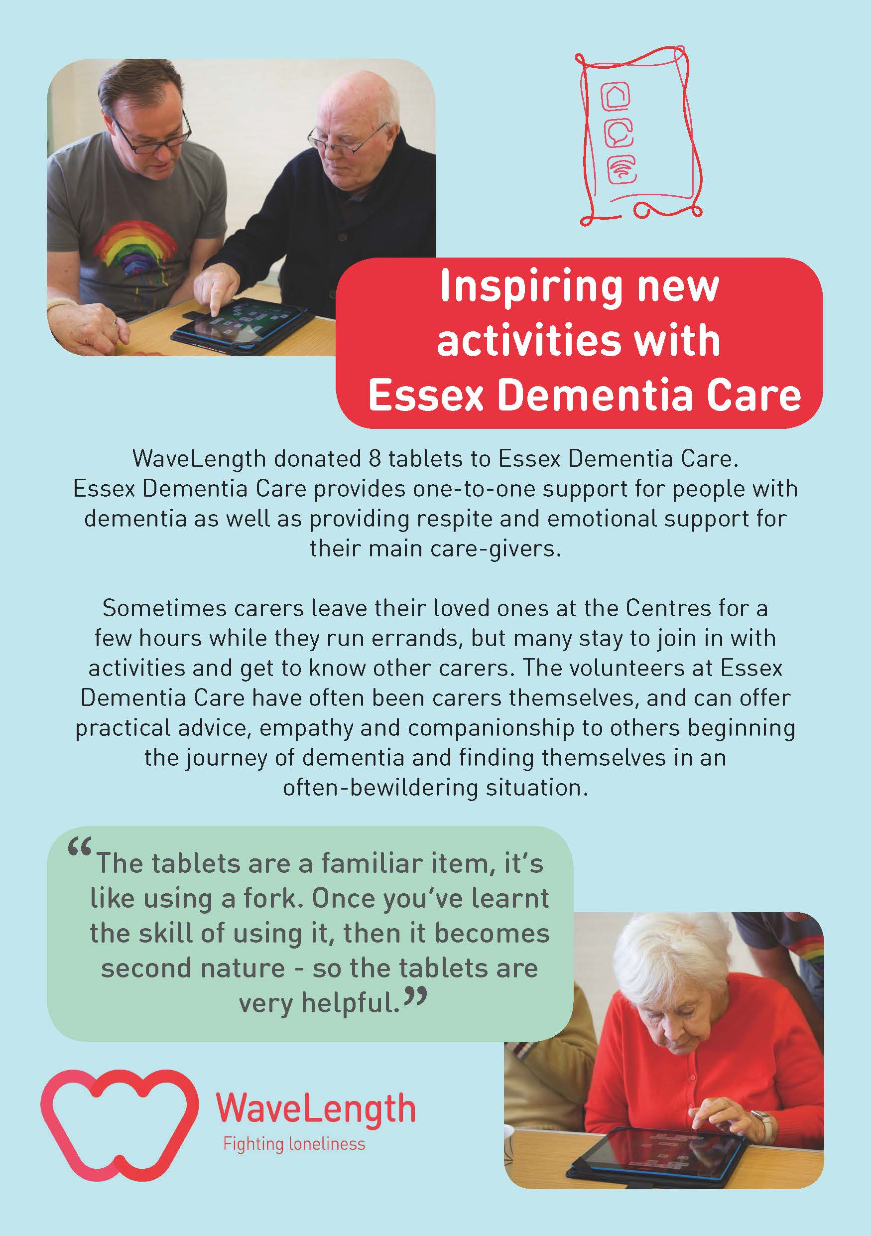 WaveLength Essex Dementia Care
