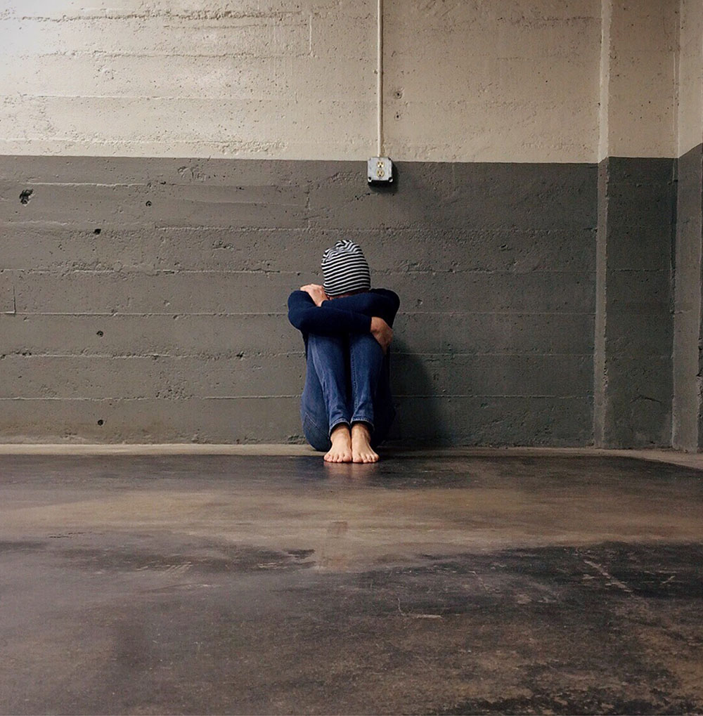 WaveLength person sitting on ground