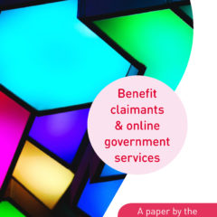 Benefit claimants and online government services